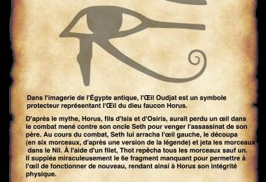 Oeil horus signification