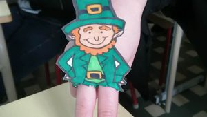 Leprechauns des 6èmes du St Patricks'Day
