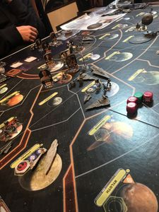 Star Wars Rebellion avec son extension The Empire Rising en VO