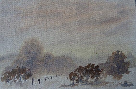 paysage humide