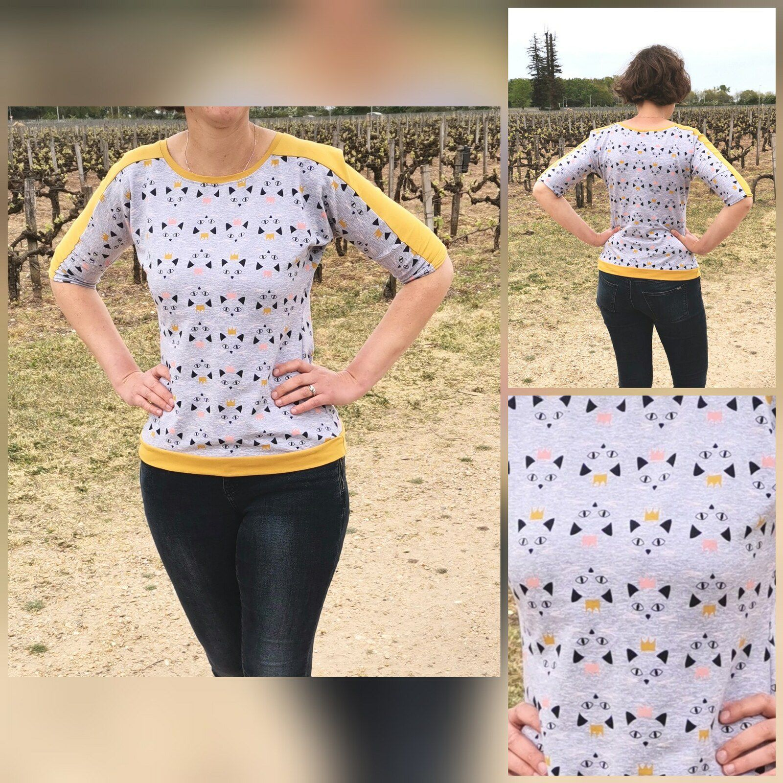 Couture : Tee-shirt femme