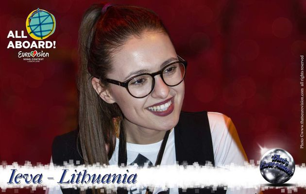 Lithuania 2018 - Ieva - I Can Show My Feelings and Myself For The Audience