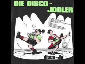 disco jo, un groupe hollandais et on embarque sur des airs autrichiens avec son costume bavarois en 1982