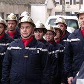 Sainte Barbe 2011des sapeurs-pompiers à Algrange le 26 novembre