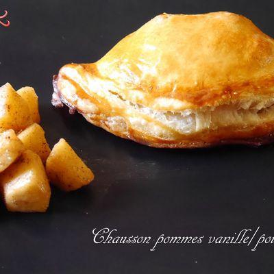 Chausson pommes vanille/poivre
