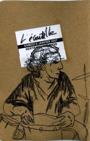 Bertrand Renaudin quartet (L'Ecoutille, janvier 2007)