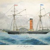 Grace Darling: wreck of the 'Forfarshire' (1838)