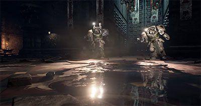 Jeux video: Space Hulk Deathwing dégaine son trailer #Gamescom !