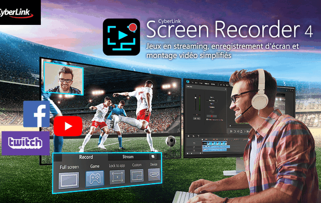 [TEST LOGICIEL] CYBERLINK SCREEN RECORDER 4 PC