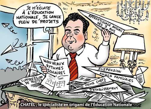 Un dossier regroupant dessins et caricatures sur des sujets d'actualité