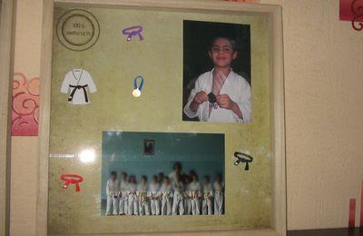 Cadre Judo pour Lucas