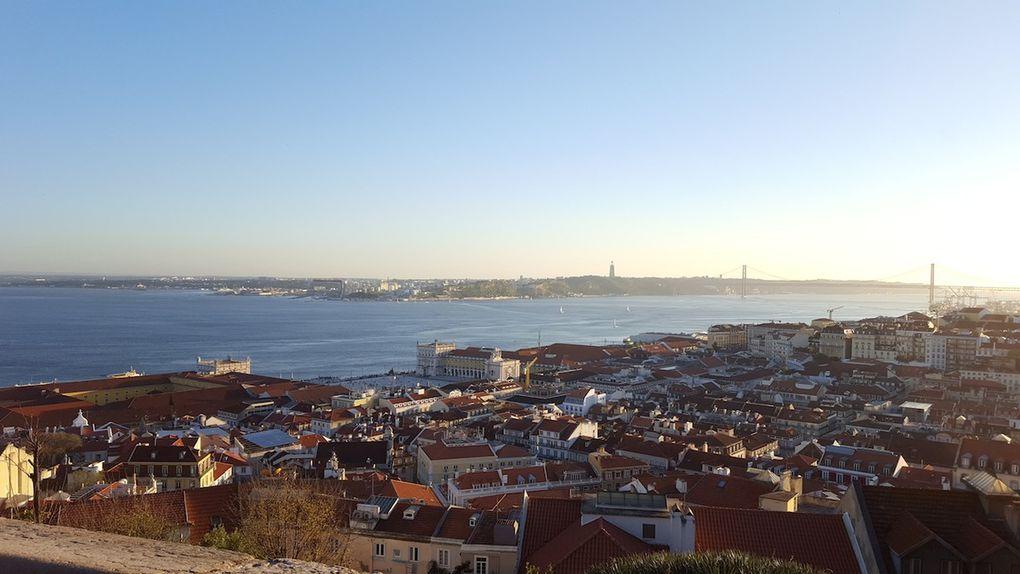 Castelo de San Jorge, Alfama et déambulations dans les rues de Lisbonne / A voir à Lisbonne