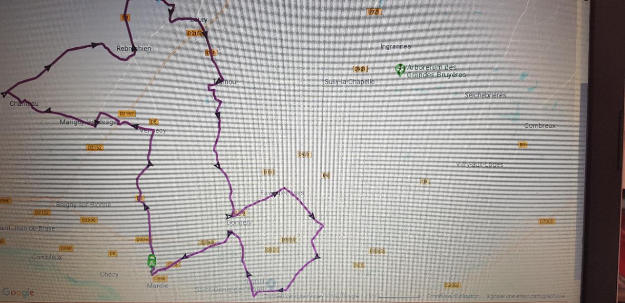 parcours route