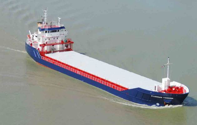 7 crew members saved, after Fluvius Tamar bulk carrier sinking off Kent