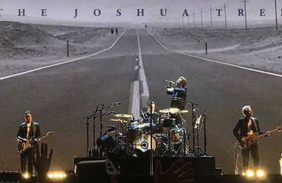 U2 -The Joshua Tree Tour 2017 en vidéos concerts.