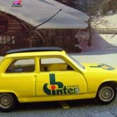 FASCICULE N°12 RENAULT 5 R5 1972 FRANCE INTER 1/43 NOREV - car-collector.net