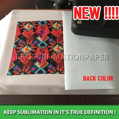 how to identify the correct printing side ,which side to print on sublimation paper?
