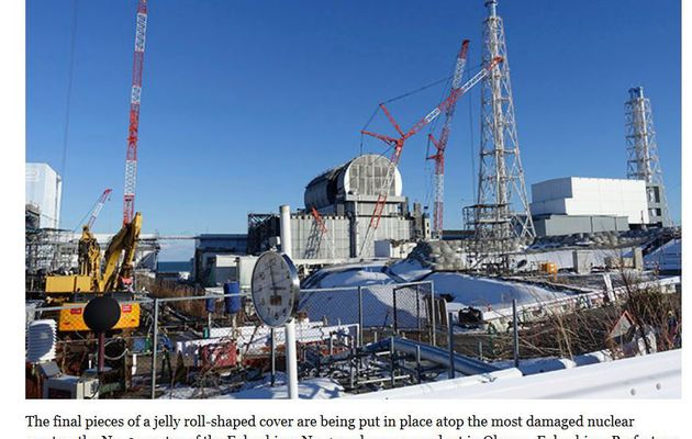 No.3 reactor gets new roof