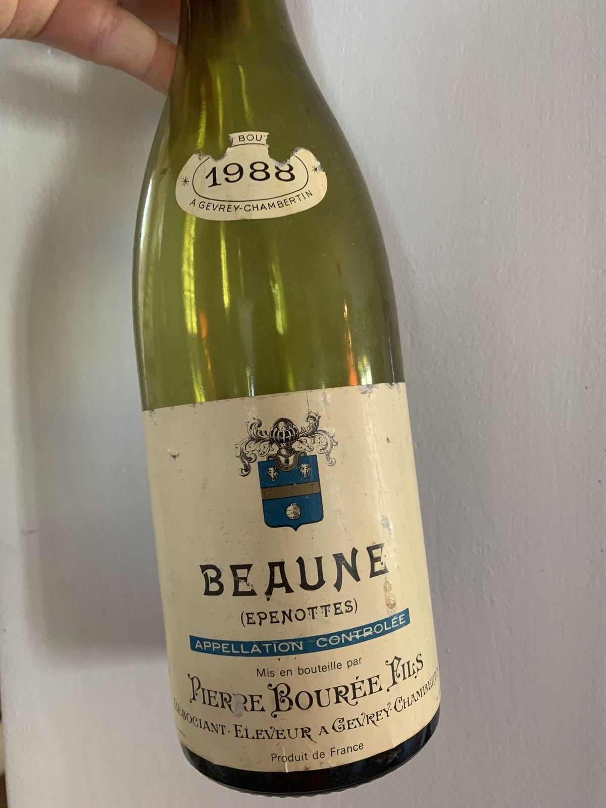 Beaune (Epenottes) 1988 Pierre Bourée