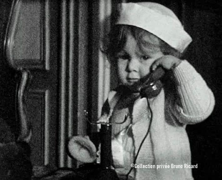 Brigitte Bardot enfant...
