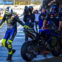 Portimao, Rossi : La fin d'un grand voyage avec l'équipe officielle Yamaha