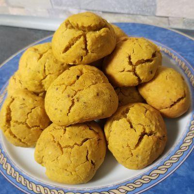 Biscuits vegan à la courge