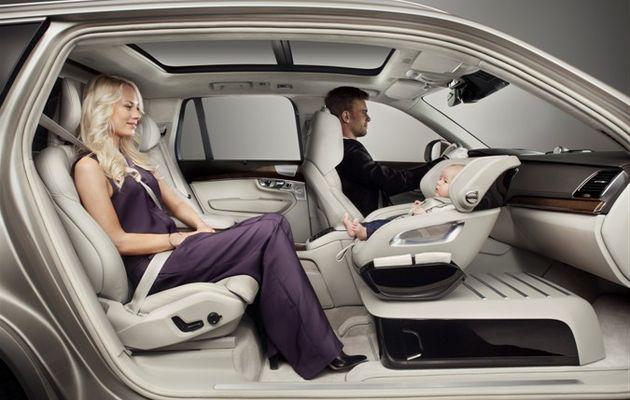 """Nouveau concept de siège-auto VOLVO """"Excellence Child Safety Seat Concept"""""""
