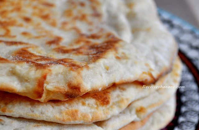Cheese Naan au fromage, la recette!