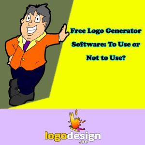Free Logo Generator Software: To Use or Not to Use?
