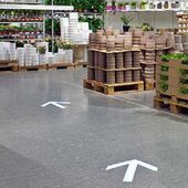 Man arrested for putting fake arrow decals on the floor in IKEA and for creating a labyrinth with no exit