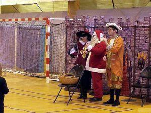 Spectacle pour Noël à Algrange en 2014