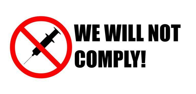 No cumpliremos: Una campaña contra la tiranía médica