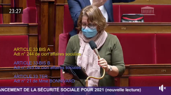 La députée Nadia Essayan a défendu les radiologues de Vierzon et du Cher