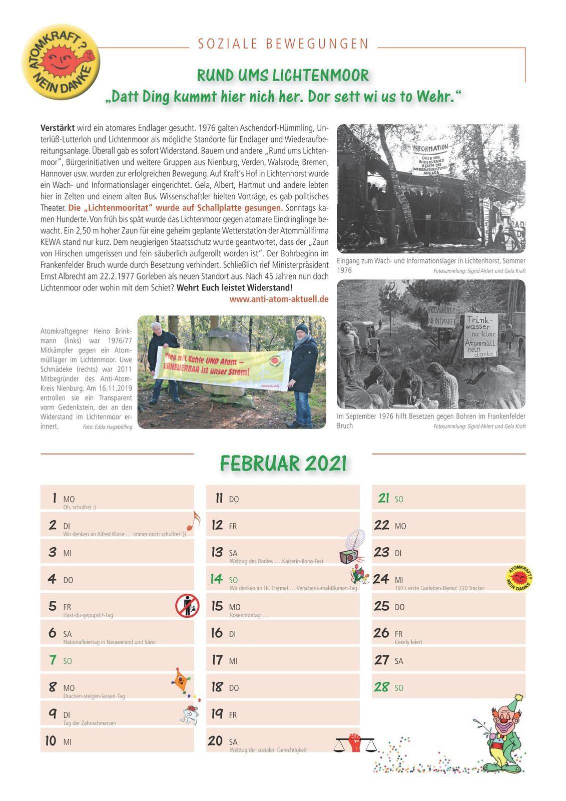 12. Kalender-soziale-Bewegung 2021 ist da