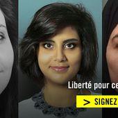 Liberté pour 3 défenseures en Arabie saoudite