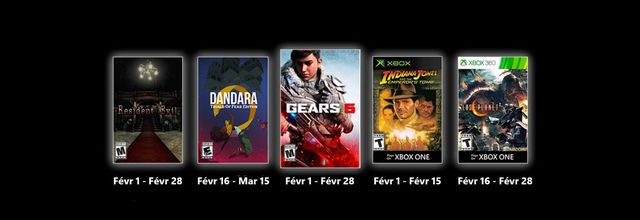 Games with Gold - Février 2021