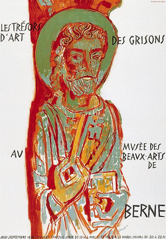 PUBLICITES :  LES GRANDS NOMS DE L'AFFICHE :  Alois  CARIGIET.