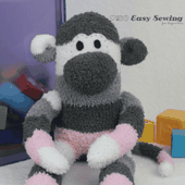 How to Make a Sock Monkey, Pattern Free! - Easy Sewing For Beginners