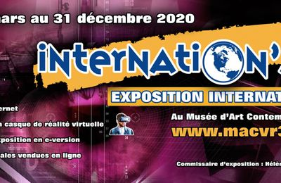 Internation'ART 2020 - Collectif International d'Artistes ARTZOOM - Muriel CAYET