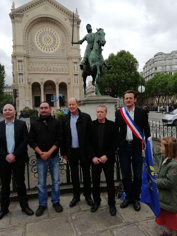 Le Parti de la France honore Jeanne d'Arc