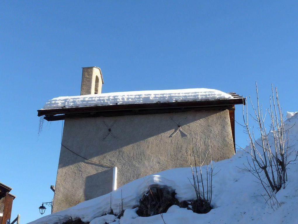 Puy Saint Vincent ;:: Les Chapelles et les églises