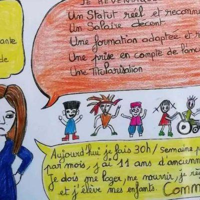 Jeudi 3 juin : en grève avec les AESH pour leur statut et leurs conditions de travail !