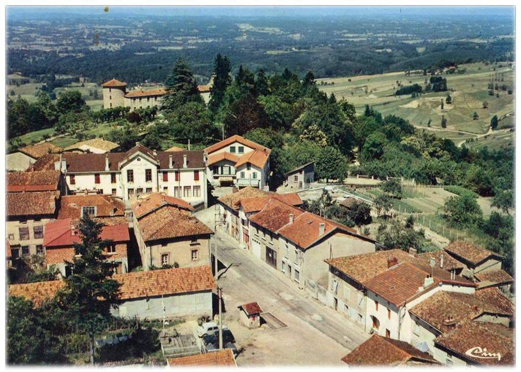 Vollore Ville aux années 50-70