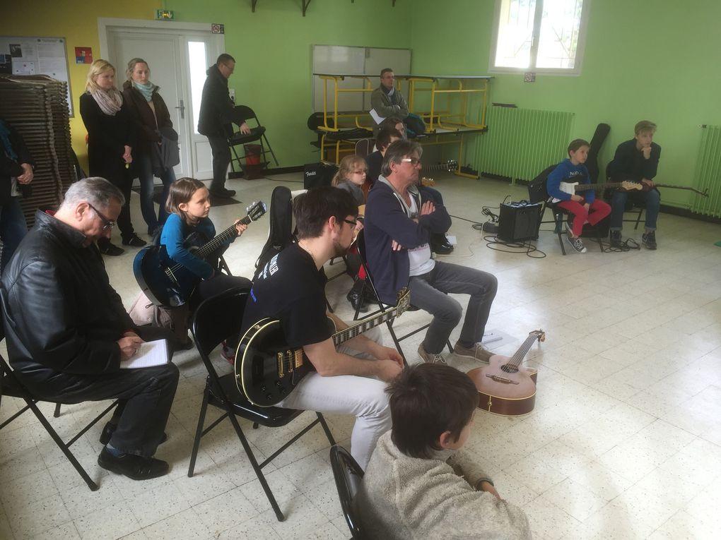 Master Classe avec Aymeric Silvert à l'Ecole de Musique