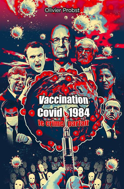 Tout avait été préparé : vaccins, lois…pour vous asservir (reçu par Marie-Josée Andichou) - 24/08/2021.