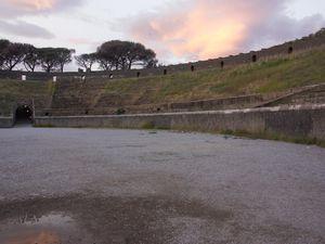 Le forum, les arènes - Pompéi