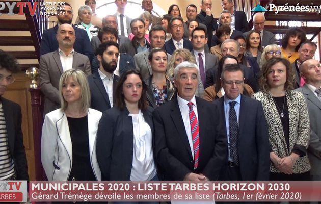 Gérard Trémège présente sa liste Tarbes Horizon 2030 (1er fév 20) | La Télé de Tarbes
