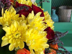 Un bouquet de fleurs !