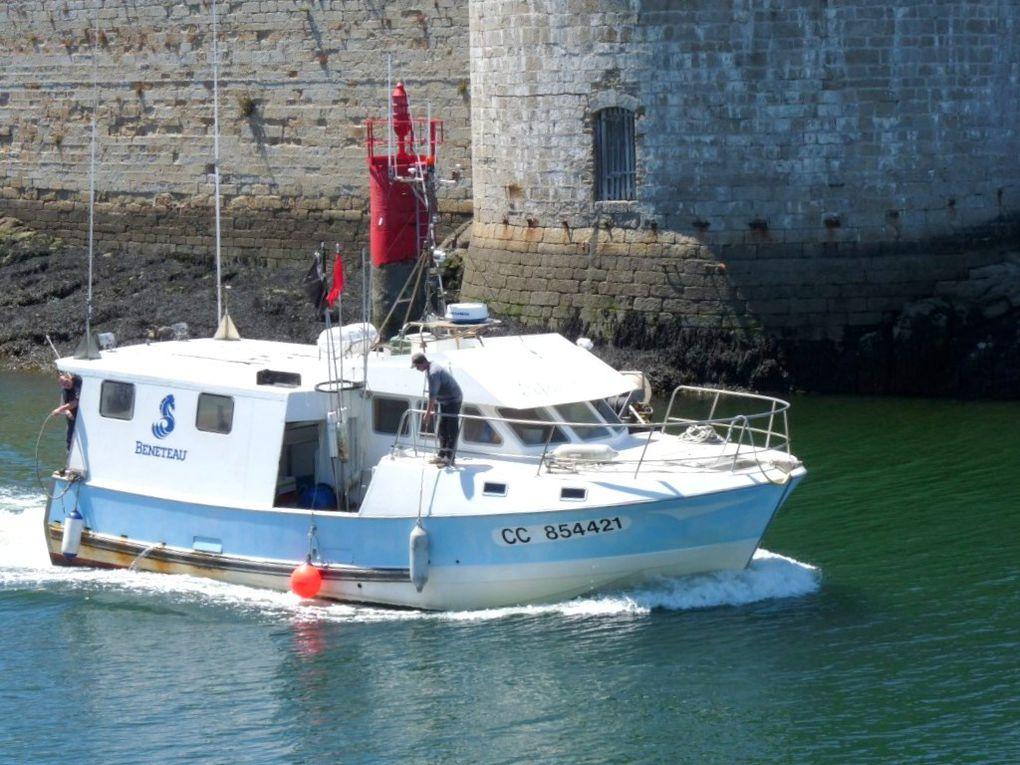 ENFANT DU VOYAGE , CC854421  , entrant dans le port de Concarneau le 13 juin 2009