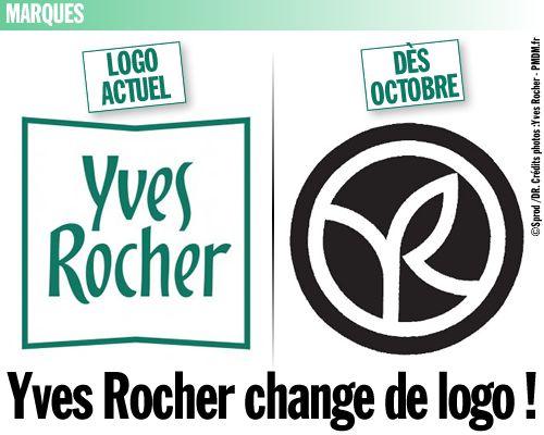 Yves Rocher change de logo !